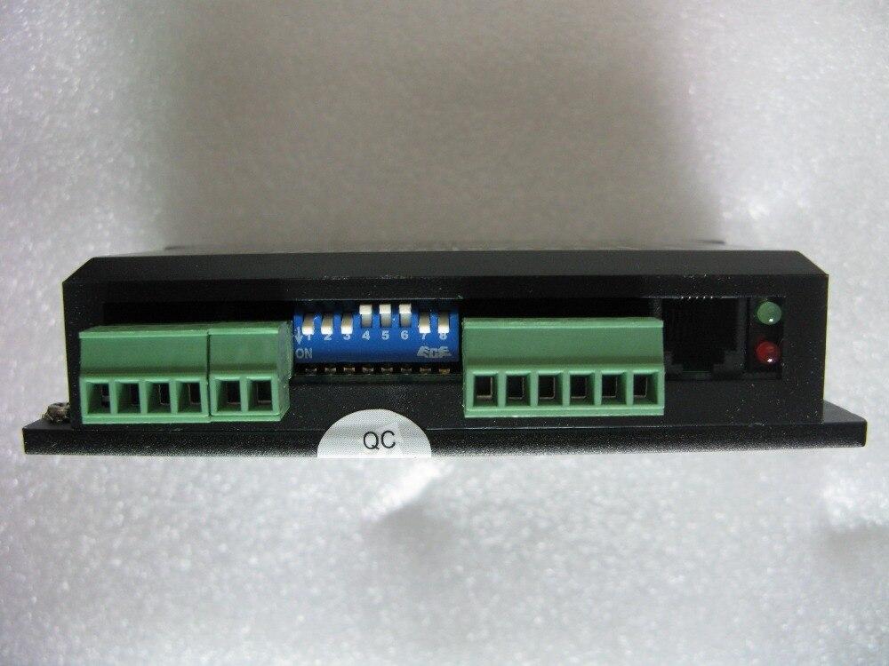 Leadshine Stepper driver DM442 For NEMA 17 to NEMA 23 motor,work at 24V-40V ,out 4.2 A based on the DSP design leadshine digital stepper motor drive dm442 for nema 16 to nema 23 motor