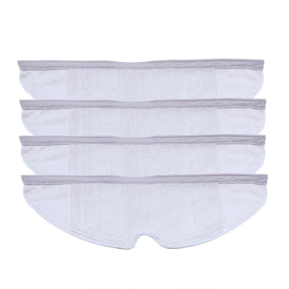 4 piezas lavable Mop aspiradora paño pads manteles para Xiaomi Roborock generación 2 aspiradora robótica