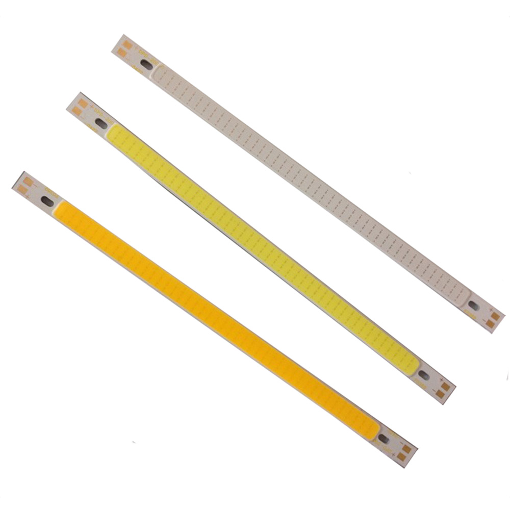 High quality 200*10mm COB LED Light Strip 10W CRI 12V diode strip for Warm white /white blue DIY lighting project  factoryOutlet e cap aluminum 16v 22 2200uf electrolytic capacitors pack for diy project white 9 x 10 pcs