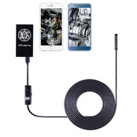 1m 1 5m 2m 3 5m 5m Cable IOS Android Wifi Endoscope 7mm Lens 6 LED