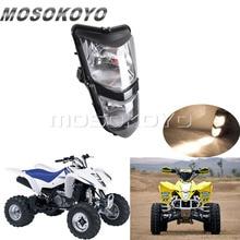 Motorcycle 12V/25W Headlight Dual Twin Headlamp for Suzuki ATV Quadsport LTZ 400 LT-Z400 LTZ400 2003-2008 все цены