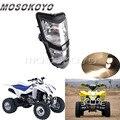 Motorrad 12 V/25 W Scheinwerfer Dual Twin Scheinwerfer für Suzuki ATV Quadsport LTZ 400 LT Z400Z LTZ400 2003  08 Kawasaki KFX400 KSF400 auf