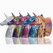KESMALL 1PC Makeup Brush Unicorn Foundation natural detox jia shua Nail Beauty Tools CL0082