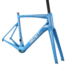 2017 super light AERO T1000 carbon road frame 930g size 57cm racing bike frames A8