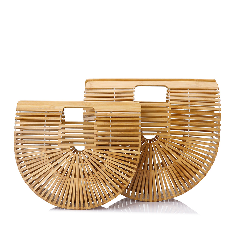 LOVEVOOK top handle bags bamboo for womens