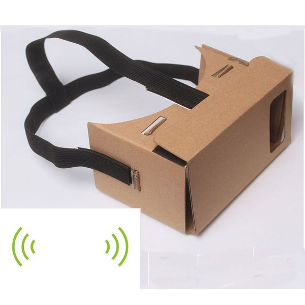 Hot Google <font><b>Cardboard</b></font> 3D <font><b>Vr</b></font> <font><b>Virtual</b></font> <font><b>Reality</b></font> <font><b>Glasses</b></font> <font><b>with</b></font> NFC Tag Head Mount <font><b>DIY</b></font>