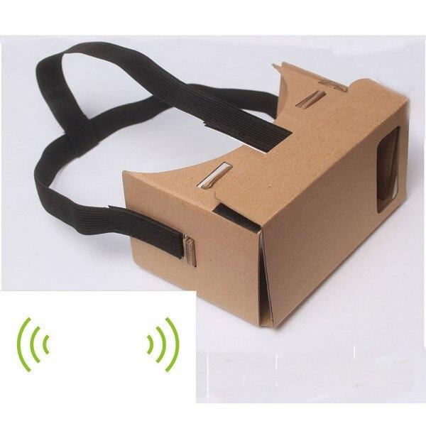 Hot <font><b>Google</b></font> <font><b>Cardboard</b></font> 3D Vr <font><b>Virtual</b></font> <font><b>Reality</b></font> <font><b>Glasses</b></font> with NFC Tag Head Mount <font><b>DIY</b></font>