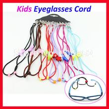 60pcs Children Kids colorful glasses eyeglass eyewear sunglass cord Free shippin