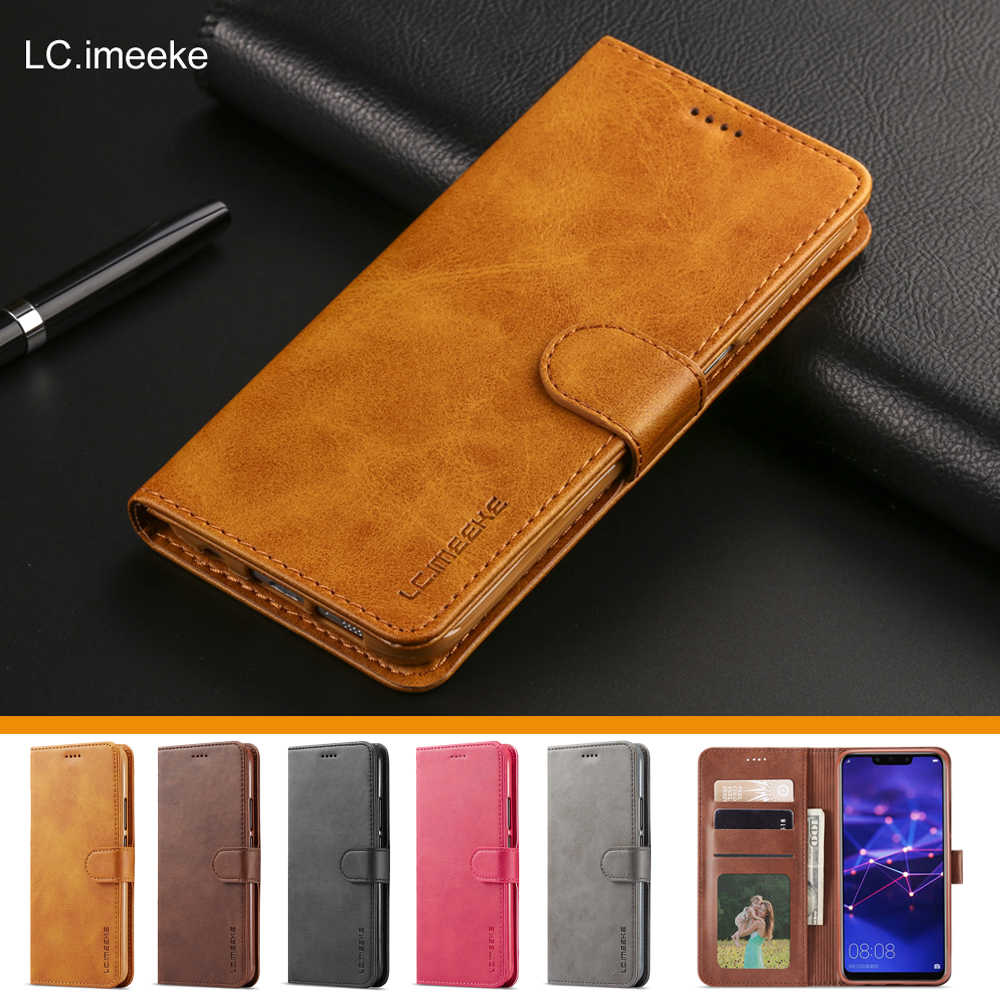 Luxury Leather Flip Case for Huawei P9 P10 Plus P20 Lite Pro card slot wallet case cover for Huawei Mate 10 Lite 20 Pro honor 8x