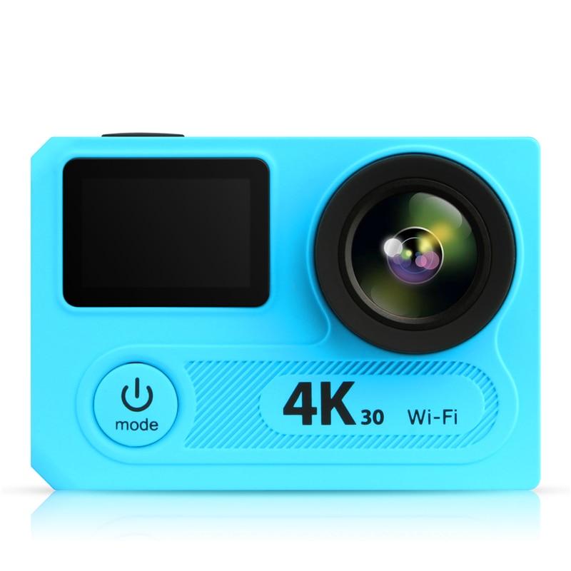 Wifi Impermeable Verdadero 4 K Deporte Cámara de Acción de Vídeo con Control Rem