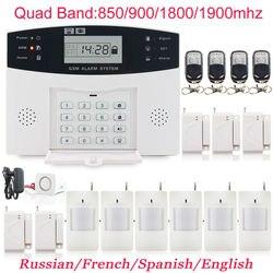 Jinmanze wireless 433mhz home burglar security sim sms gsm alarm system pir detector door sensor metal.jpg 250x250