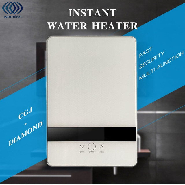 6500 Watt Durchlauferhitzer Dusche Digitalanzeige Wand Smart Touch ...