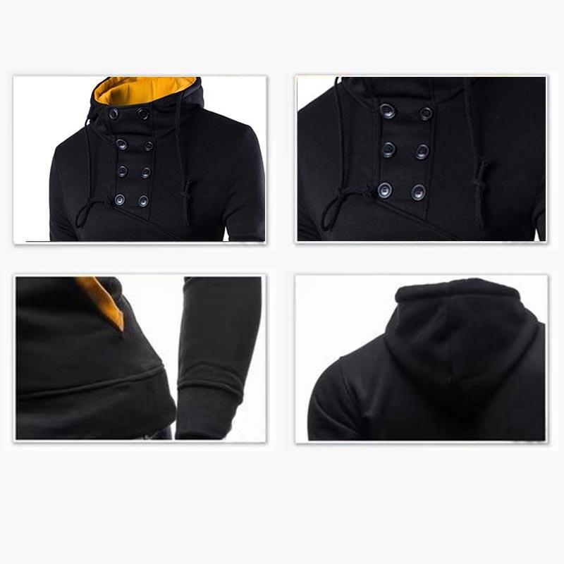 Japanese Streetwear Anime Hoodie Long Sleeve Top Cosplay Custom Hoodie White Clothing Plain Hoddies Black Mens Hoodies hooded in Hoodies amp Sweatshirts from Men 39 s Clothing