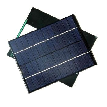 BUHESHUI 5.2W 12V Solar Panel Polycrystalline Solar Cell DIY Panel Solar Power Battery Charger 165*210MM 10pcs Free Shipping