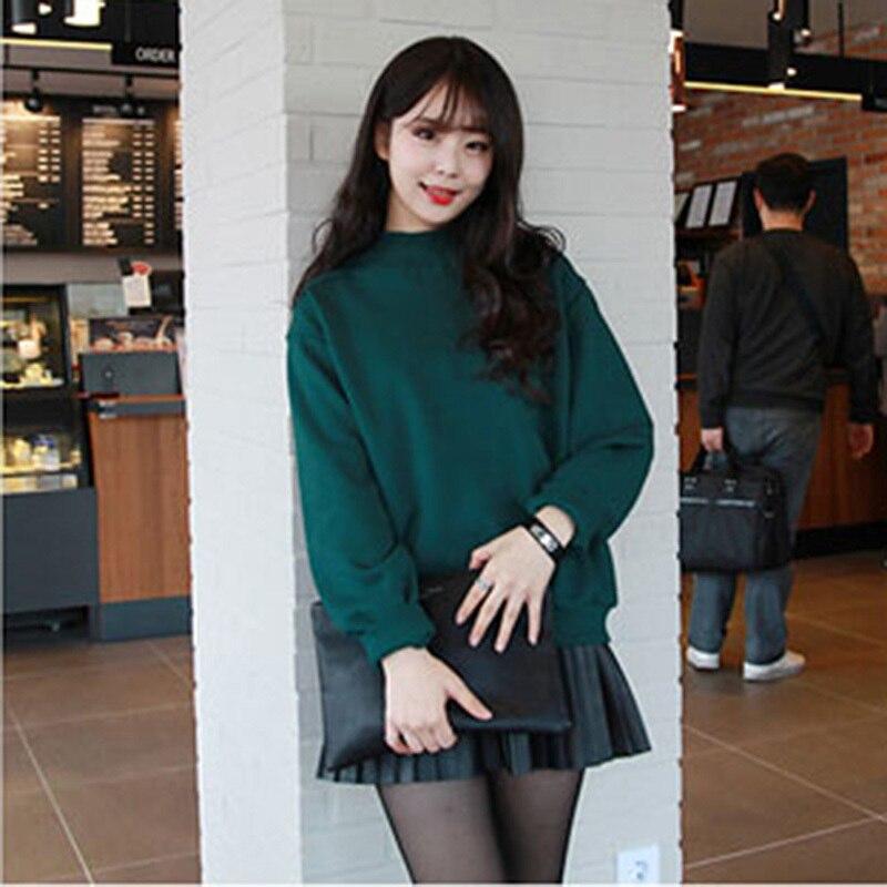 Moda Wiosna Jesień Kobiety Bluzy Dorywczo Bluza bluzy cukierki płaszcz kurtka outwear Tops 4