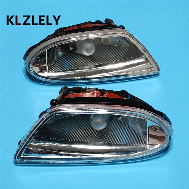 For mercedes-benz W163 ML320 ML350 ML500 ML400 1998-2005 Car styling Front bumper Fog Lights halogen fog lamp zipper fly chamois biker jacket