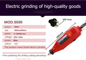 Image 4 - BDCAT EU/US plug dremel Grinder DIY Electric Hand mini Drill Machine with 122pcs Accessories Variable Speed Dremel Rotary tools