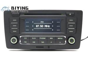 Image 1 - Uso para skoda pq octavia rádio yeti stereo rcn210 mp3 aux cd player