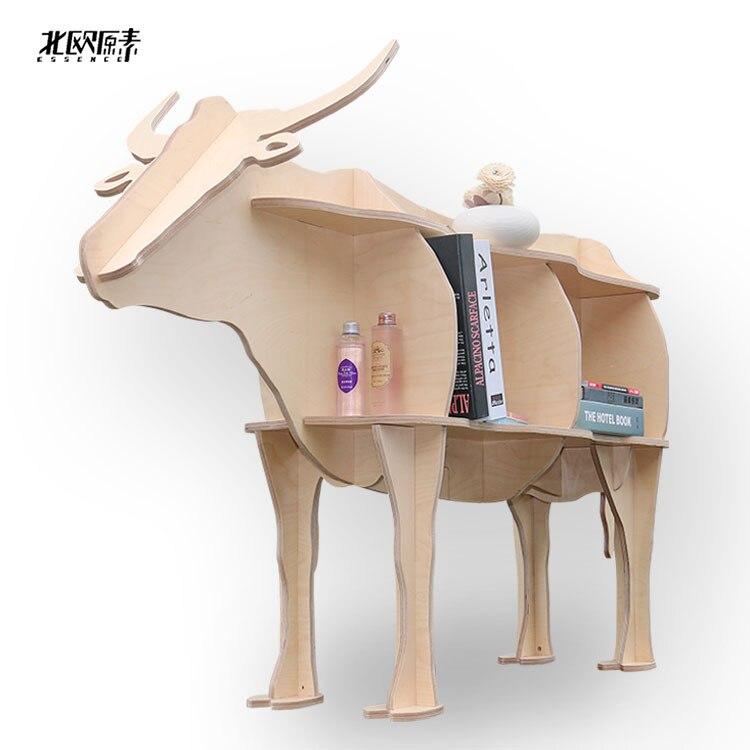 aliexpress : buy scandinavian bovine animal mascot shelving