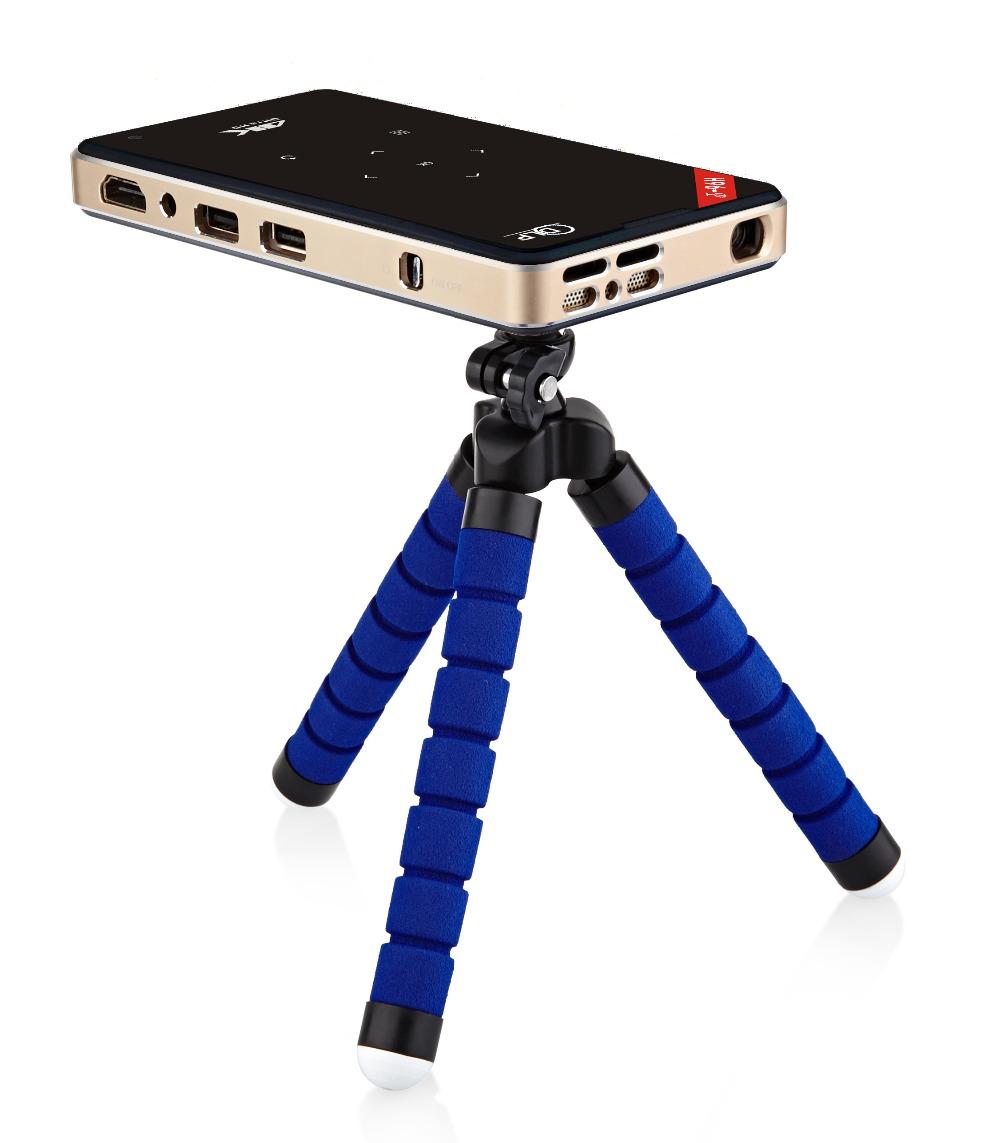 014 H96-P DLP Mini projector Amlogic S905 4K  2.4G_5Gwifi BT4.0 keystone correction hd in