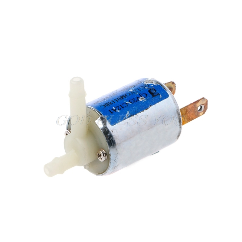 Mini Micro Solenoid Valve 12V DC Electric Water Air Gas Valve Discouraged Normally Closed