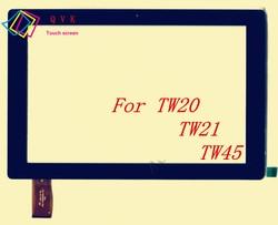 Czarny 10.1 Cal dla iRbis TW20 TW21 TW45 tablet pc pojemnościowy panel dotykowy digitalizator do szkła ekranu darmowa wysyłka|Ekrany LCD i panele do tabletów|Komputer i biuro -