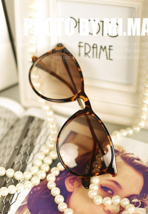 Cute sunglasses make face littler 4 colors 2014 hot selling fashion women sun glasses Super Fashion oculos de sol GL-5233