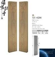Chinese antique door handle wooden door handle glass door handle hotel clubs carved bronze handle large