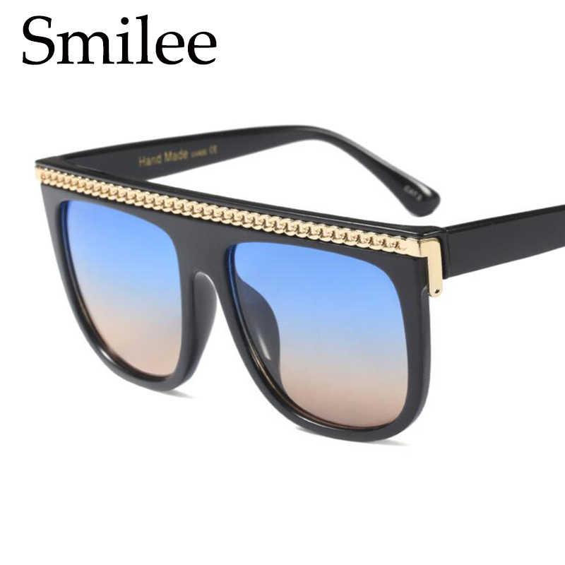 119c422b67 ... Oversized black sunglasses fashion square frame flat top sun glasses  for men big shades retro sunglass ...
