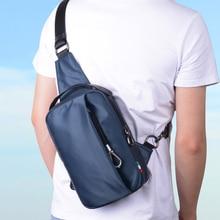 BJIAX Прочный Оксфорд нейлон Сумки Функциональные Многослойные Груди Пакет Мешок Большой Емкости Плеча Водонепроницаемый Современных Sling Bag