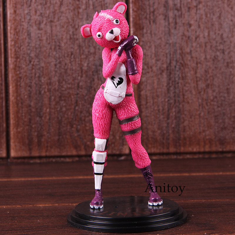 Valentine's Day Cuddle Team Leader Pink Bear PVC Action Figure Collectible Model Toy