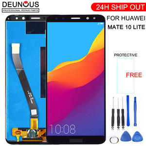 For Huawei Mate 10 Lite LCD Display + Touch Screen Digitizer Screen Glass Panel Assembly