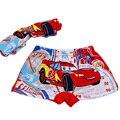 Crianças calcinhas de algodão underwear cuecas de cintura elástica crianças calças charcater para meninos cuecas curtas com padrão carro
