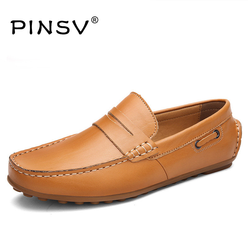 Loafers Men Flats Shoes Genuine Leather Shoes Men Moccasins Men Casual Shoes Slip On Loafers Zapatos Hombre Sapatos Masculino fashion nature leather men casual shoes light breathable flats shoes slip on walking driving loafers zapatos hombre