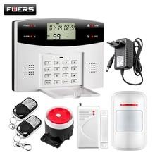 Fuers 99 Беспроводной 4 Проводной зон GSM PSTN охранной сигнализации Системы S дома Дистанционное управление Защита от взлома Системы