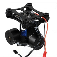 Anti Vibration Practical Direct Fit Board 2 Axis Heat Dissipation Brushless Gimbal Controller Aerial Photography For Gopro3
