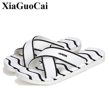 Summer Man Slippers EVA Wear-resisting Skidproof flip flops men shoes Outside Sandy Shower Room Home Alippers Soft beach sandals