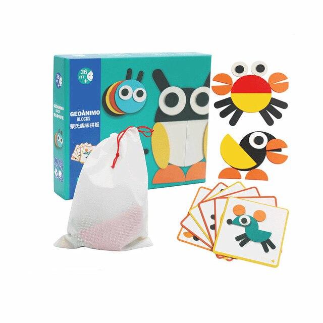 3d Puzzle Set Montessori Toys For Kids Children Boys Oyuncak Juegos