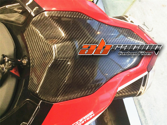 Seat Cowl Cover For Ducati 848 1098 1198 Full Carbon Fiber 100