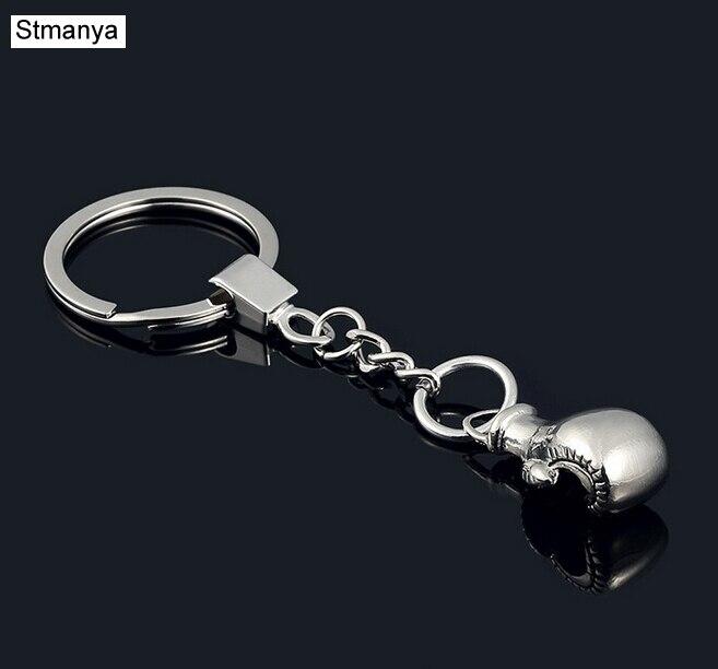 Boxing Glove keychain -New Design Cool Luxury metal Keychain Car Key Chain Key Ring Cartoon Bag pendant For Man Best Gift 17171