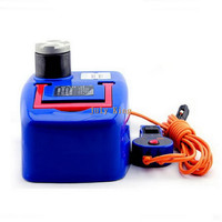 DC12V Electric Hydraulic Jack With LED Light Position The Largest Top Heavy 1500KG Min Max Height