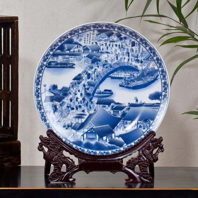 Jingdezhen Ceramic Antique Beauty China Plates The Twelve Gold Hair Pin Beauty Porcelain Decorative Plate For & Jingdezhen Ceramic Antique Beauty China Plates The Twelve Gold Hair ...