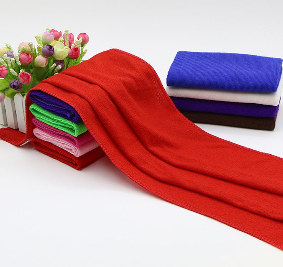 Barber shop special quick-drying towel beauty salon cleaning microfiber dry hair