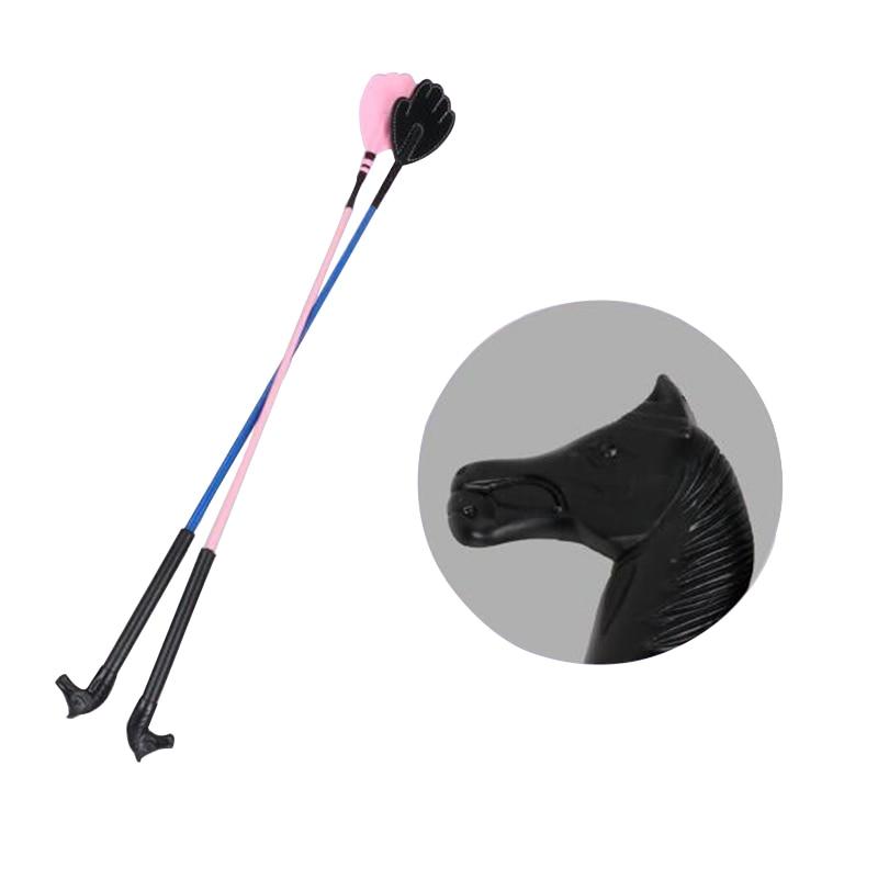 60cm Children's Horse Whip Equestrian Supplies Obstacle Short Whip Training Popular Design Horse Riding Equipment