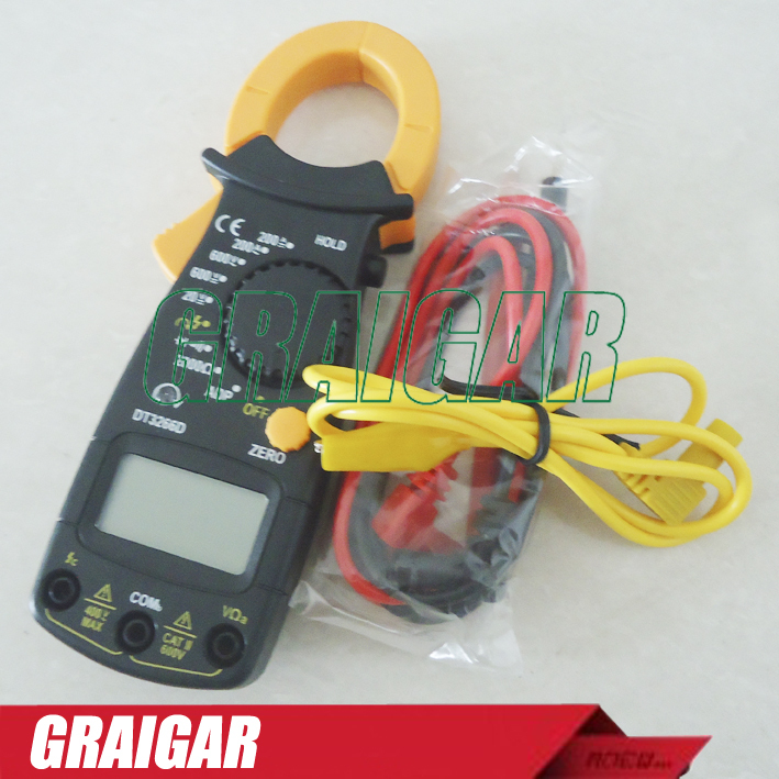 Digital clamp meter ac dc multimeter DT3266D Firewire discriminant and phase sequence measurement  цены