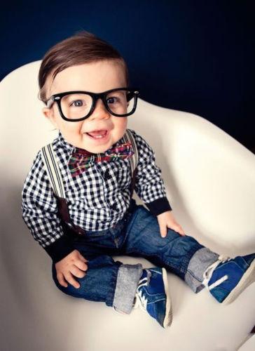 2015 Ребенка Мальчики Рубашка + Подтяжки Джинсовые Брюки детская Одежда Наряд Костюм В Целом