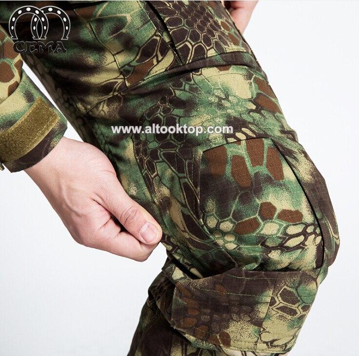 DHL 5 sets Armee camouflage deutsch militär uniform multicam combat ...