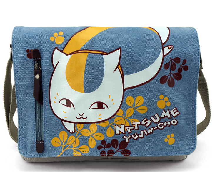 Anime Bag Natsume S Book Of Friends Durable Messenger School For Students Kids Children Boys Canvas Bags In Crossbody From Luggage