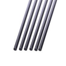 5pcs Carbon Fiber Rods Dia 1mm 2mm 3mm 4mm 5mm 6mm 7mm 8mm 10mm 11mm 12mm стоимость
