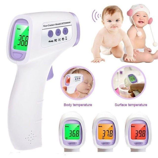Herramienta de diagnóstico Multi-propósito Infrarrojo electrónico Bebé/Adulto Termómetro Sin contacto Frente Infrarrojo Cuerpo Termometro Digital